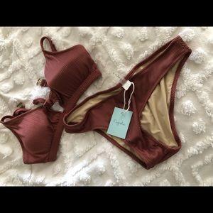 Bikini dusty pink
